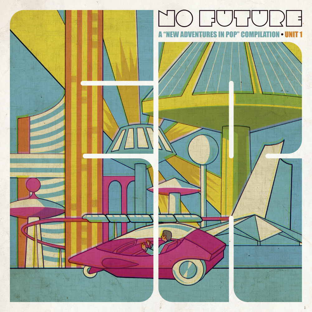 "VV.AA ""No Future: A New Adventures In Pop Compilation · Unit 1"" Doble LP"